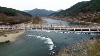 [드론영상] 가정역 - 곡성 섬진강 기차마을 관광철도