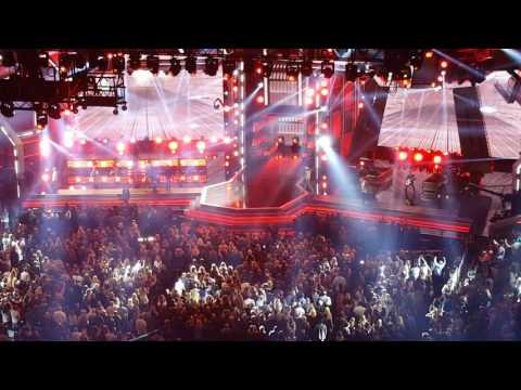 Florida Georgia Line and Backstreet Boys at ACM'S 2017 live
