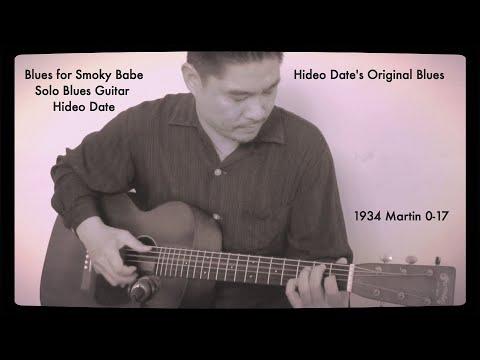 1934 Martin 0-17 Blues For Smoky Babe Hideo Date Original Blues A=432Hz