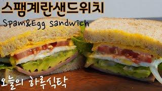 빵집보다 맛있는 초간단 샌드위치~ 누구나 쉽게 만들 수…