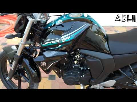 Yamaha FZ-S Fi 2.0 blue core  (2017) walkround