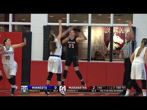High School Girls Basketball: Minneota vs. Maranatha Christian Academy