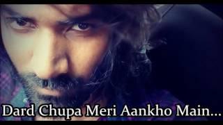 Dard Chupa Meri Aankho Main | Official Song By rockstar vicky