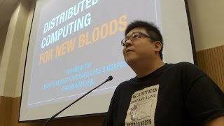 Distributed Computing for New Bloods by Raymond Tay