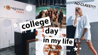 COLLEGE DAY IN THE LIFE: hauls, sorority stuff, yoga classes & more!
