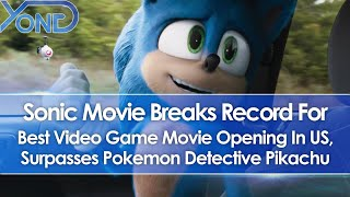 Sonic Movie Breaks Record For Video Game Movie Openings, Surpasses Pokemon Detective Pikachu In US