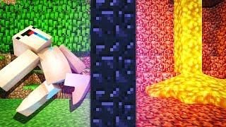 ПОРТАЛ В АД — Учим Нуба Играть В Майнкрафт #14 | ВЛАДУС