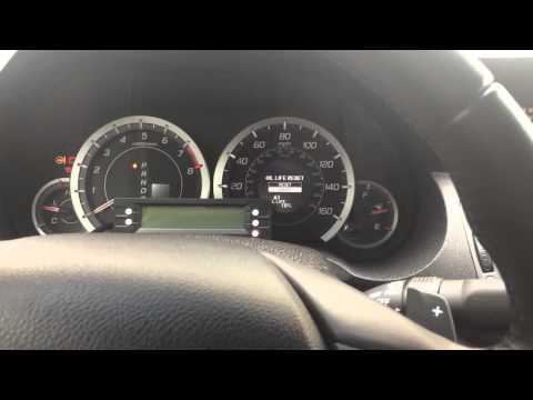 Reset Acura TSX Oil/ Service Light 2009-2014 (Quick & Easy)