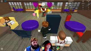 Father and son playing Roblox - Restaurant Tycoon. Part #4