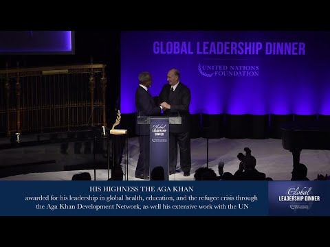 Global Leadership Dinner (Longer edit)