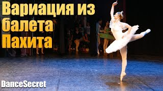Балет для взрослых. Вариация из балета Пахита