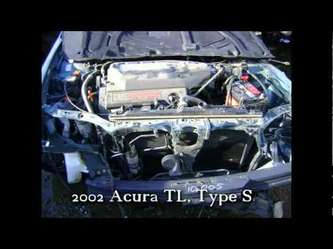 2002 Acura TL Type S parts AUTO WRECKER RECYCLER ahparts.com Acura used
