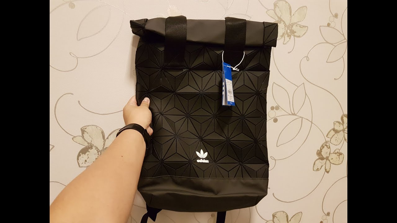 139d49f96c Adidas x Issey Miyake Backpack Review - YouTube