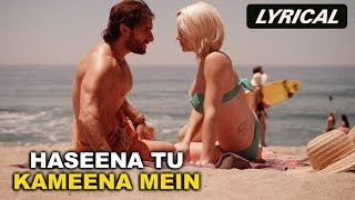 Haseena Tu Kameena Mein (Lyrical Full Song) | Happy Ending | Saif Ali Khan, Govinda & Ileana D