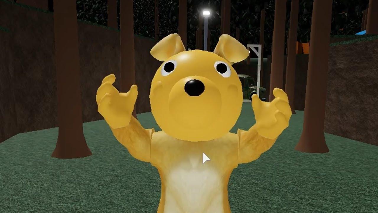 ROBLOX PIGGY PUPPY JUMPSCARE - Roblox Piggy RolePlay