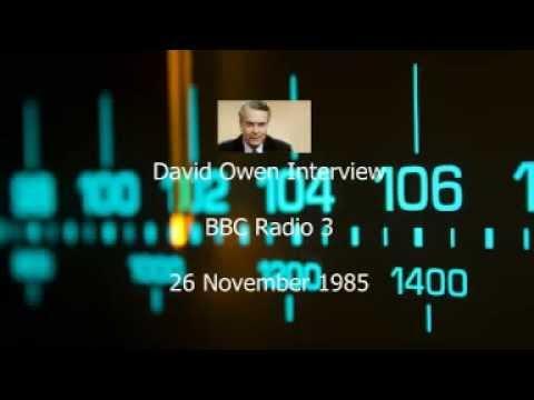 Interview with David Owen (1985)