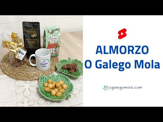 ❤️ ALMORZO O Galego Mola con Feitizos de Sabor❗️#short #shorts