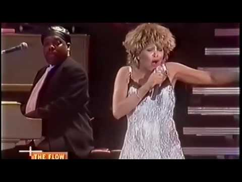 TINA TURNER - In Your Wildest Dreams (VIVA live video with Christmas Intro)