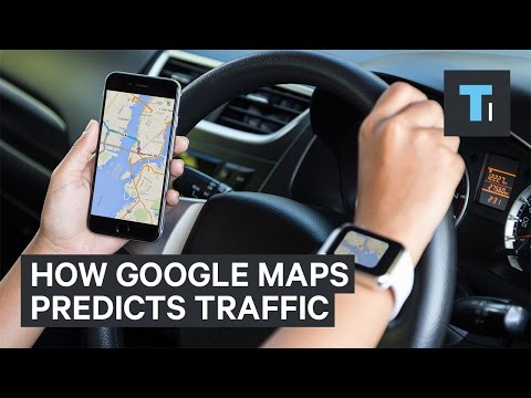 How Google Maps knows when there