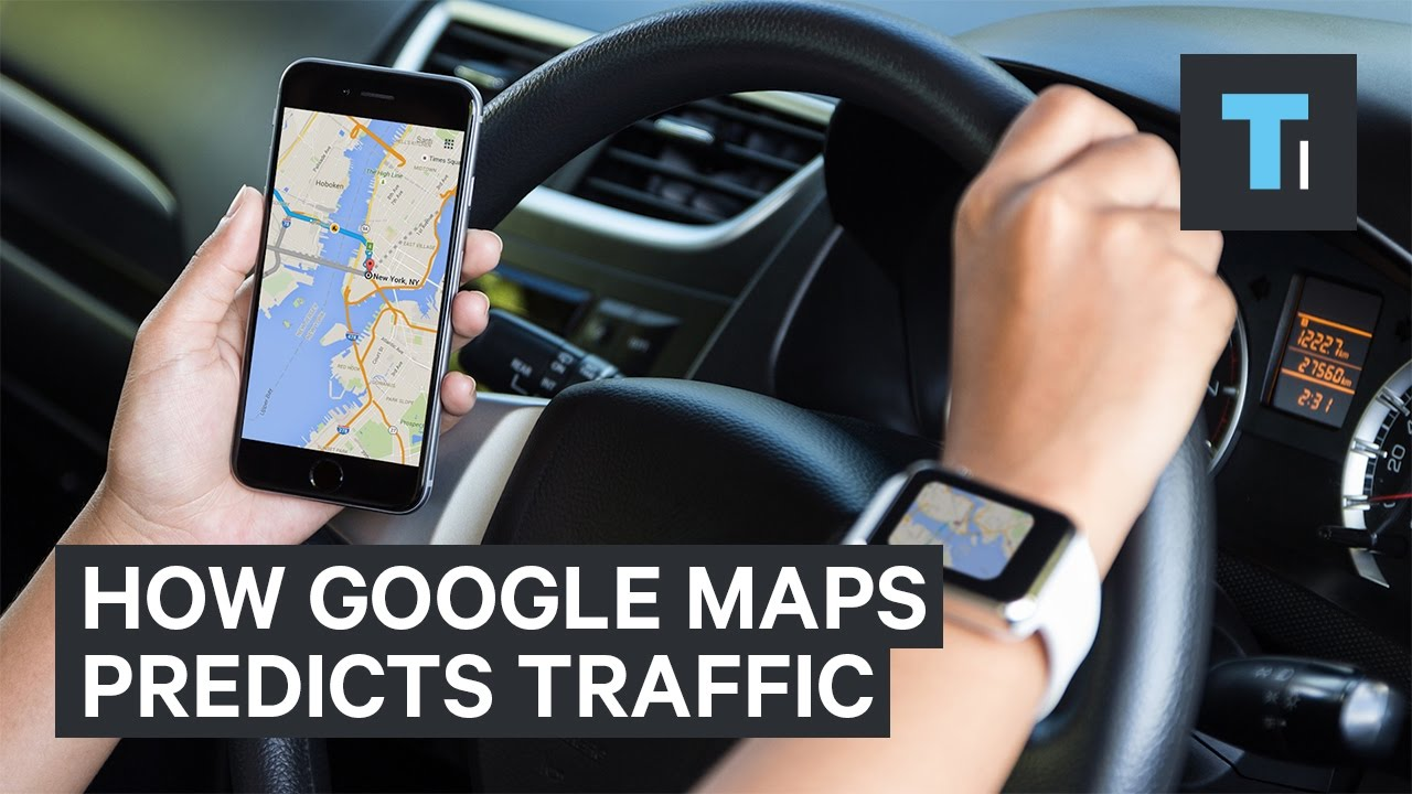 How Google Maps knows when there's traffic - YouTube on