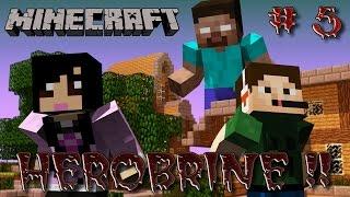 Herobrine #5 + FaceCam - Apareceu a margarida, ole ole olá !! (Minecraft LAN MOD v3.67) - FACECAM