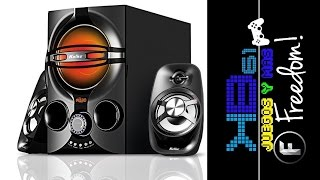 Unboxing Parlantes Kolke 2.1 Sound Experience