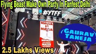 Flying beast Live at Youtube Fanfest Delhi 2019 🔥|| Gaurav Taneja YTFF 2019