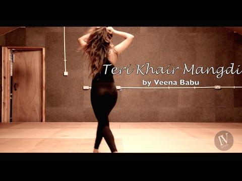 Teri Khair Mangdi   Baar Baar Dekho   Katrina Kaif   I:V dance uk   Veena Babu  