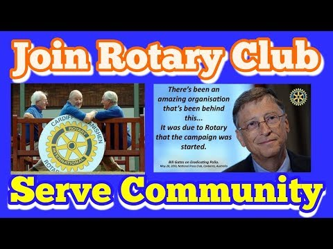Join Rotary club, a motivational video for everyone why join Rotary International .