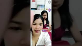 Dua Gadis Thailand Duet Joget Tiktok Kelihatan Puting Ny Sampai Buka Baju Bikin Sange & Aduhay Viral