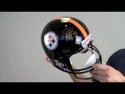 low priced 17d71 ff32f Troy Polamalu Signed Mini Helmet: Autographed NFL Mini Helmets