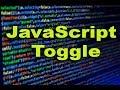 JavaScript Toggle