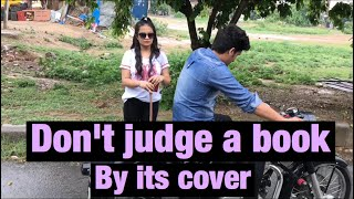 DONT JUDGE A BOOK BY ITS COVER-vine- Elvish yadav
