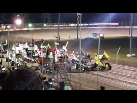 2016 World of Outlaws at Lakeside Speedway.