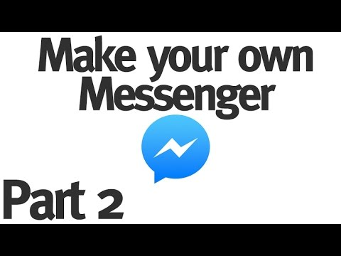 Make Your Own Instant Messenger - Part 2 - Messages Database