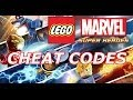 LEGO: Marvel Super Heroes - Cheat codes