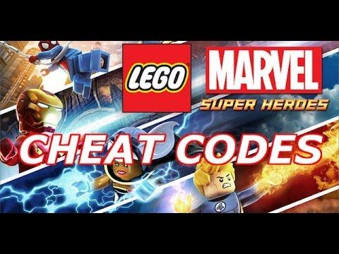 LEGO: Marvel Super Heroes - Cheat codes - YouTube