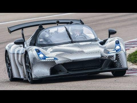 Dallara Stradale: La prima prova in pista - Davide Cironi Drive Experience (SUBS)