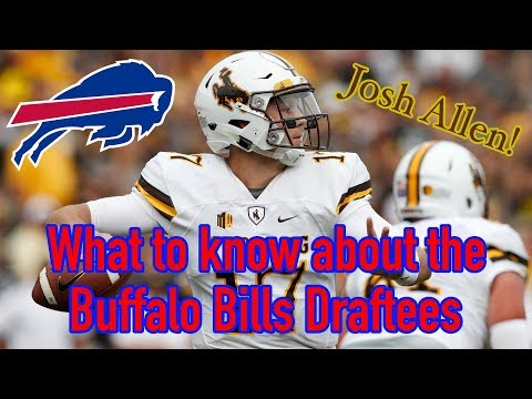 What to Know About the New Buffalo Bills Draftees