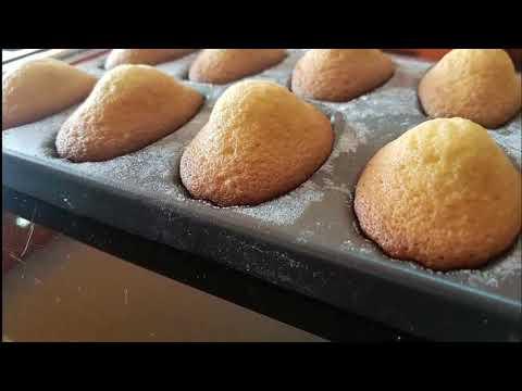 Recette de madeleine très réussi et très facile à faire