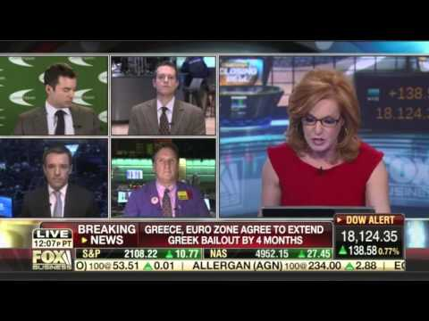 """Trent Wagner on Fox Business' """"Countdown to the Closing Bell"""" - February 20, 2015"""