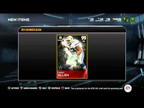 Madden 15 Ultimate Team :: We Got UL Larry Allen! ::-XBOX ONE Madden 15 Ultimate Team