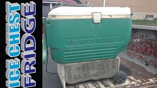 Electric Ice Chest Cooler Conversion