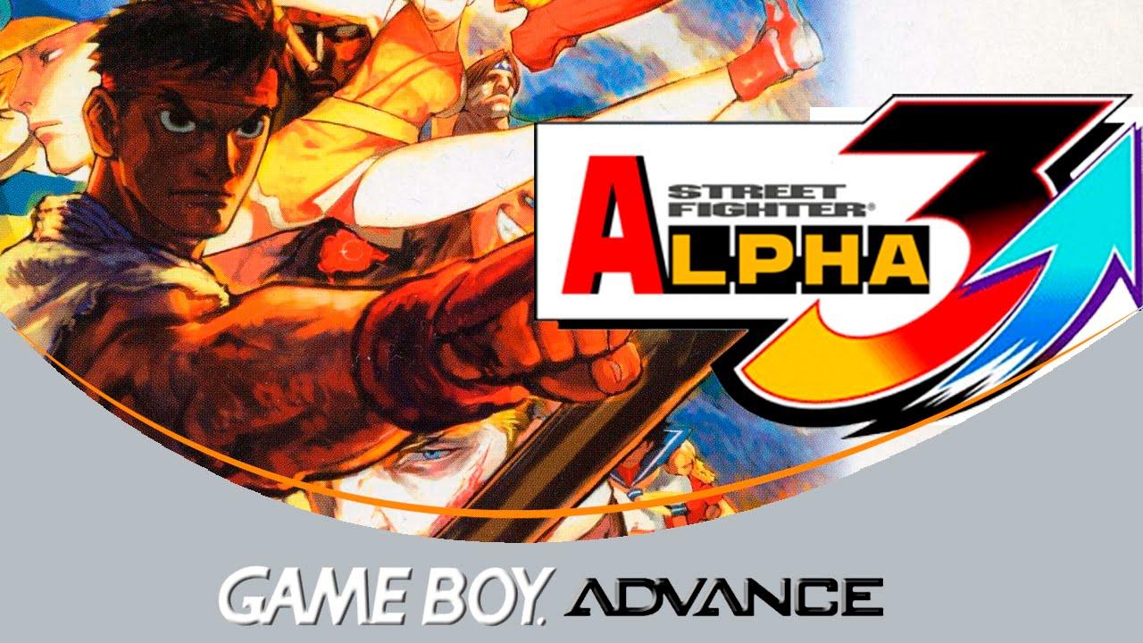 Street Fighter Alpha 3 Game Boy Advance Youtube