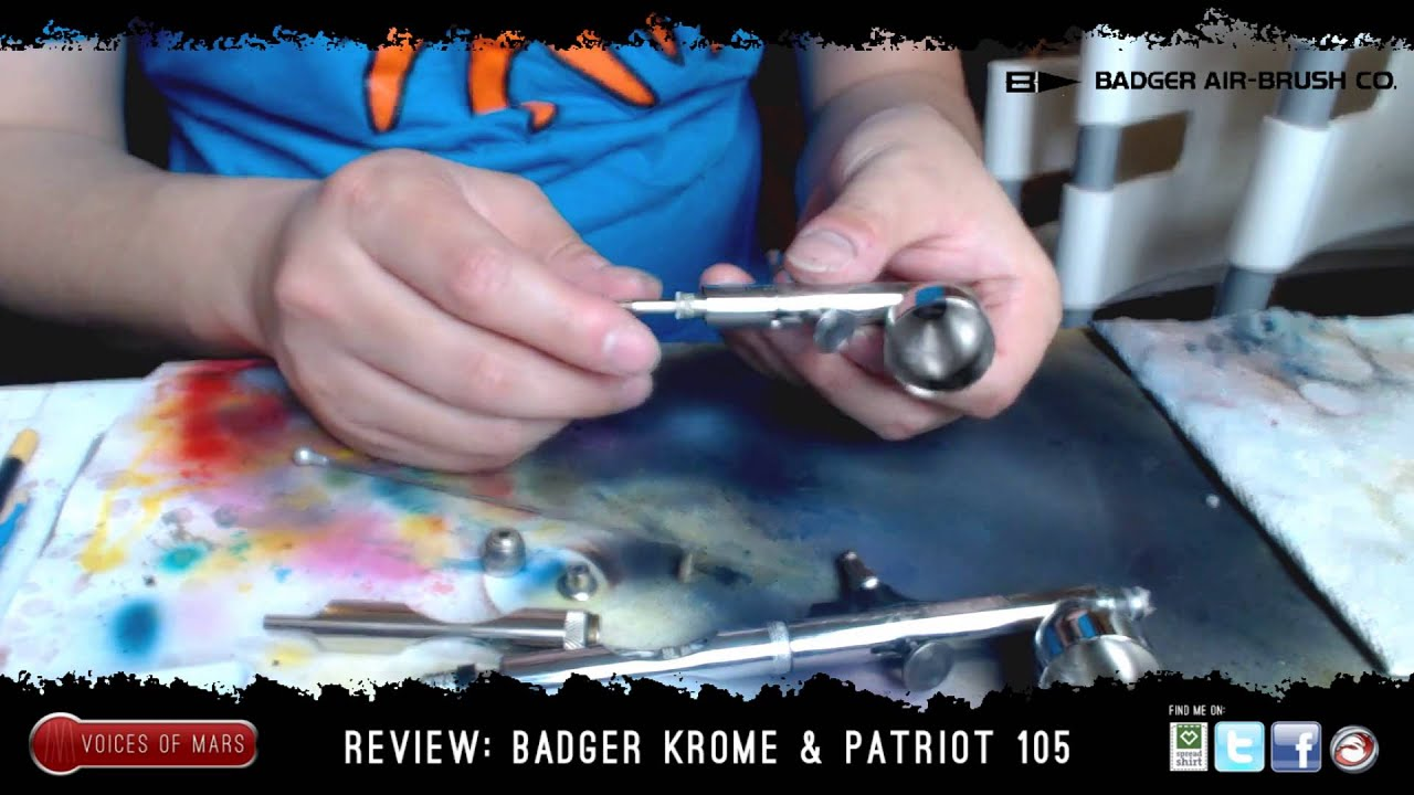 Badger Krome Review - Don's Airbrush Tips - Google Sites