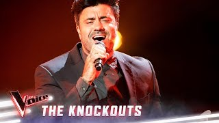 The Knockouts: Joey Dee sings 'Circle Of Life' | The Voice Australia 2019