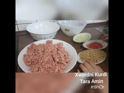 Xwardni Kurdi Tara Amin drwst krdni kabab