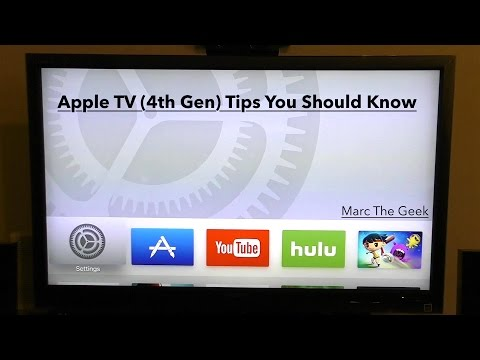 New Apple TV (4th Gen) Tips You Should Know