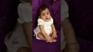 Malini cute baby girl