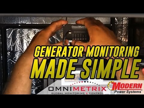 Omnimetrix Industrial Generator Monitoring | Modern Power Systems thumbnail
